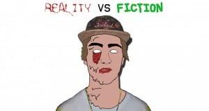 Mixtape Cover Art (Reality Vs Fiction)