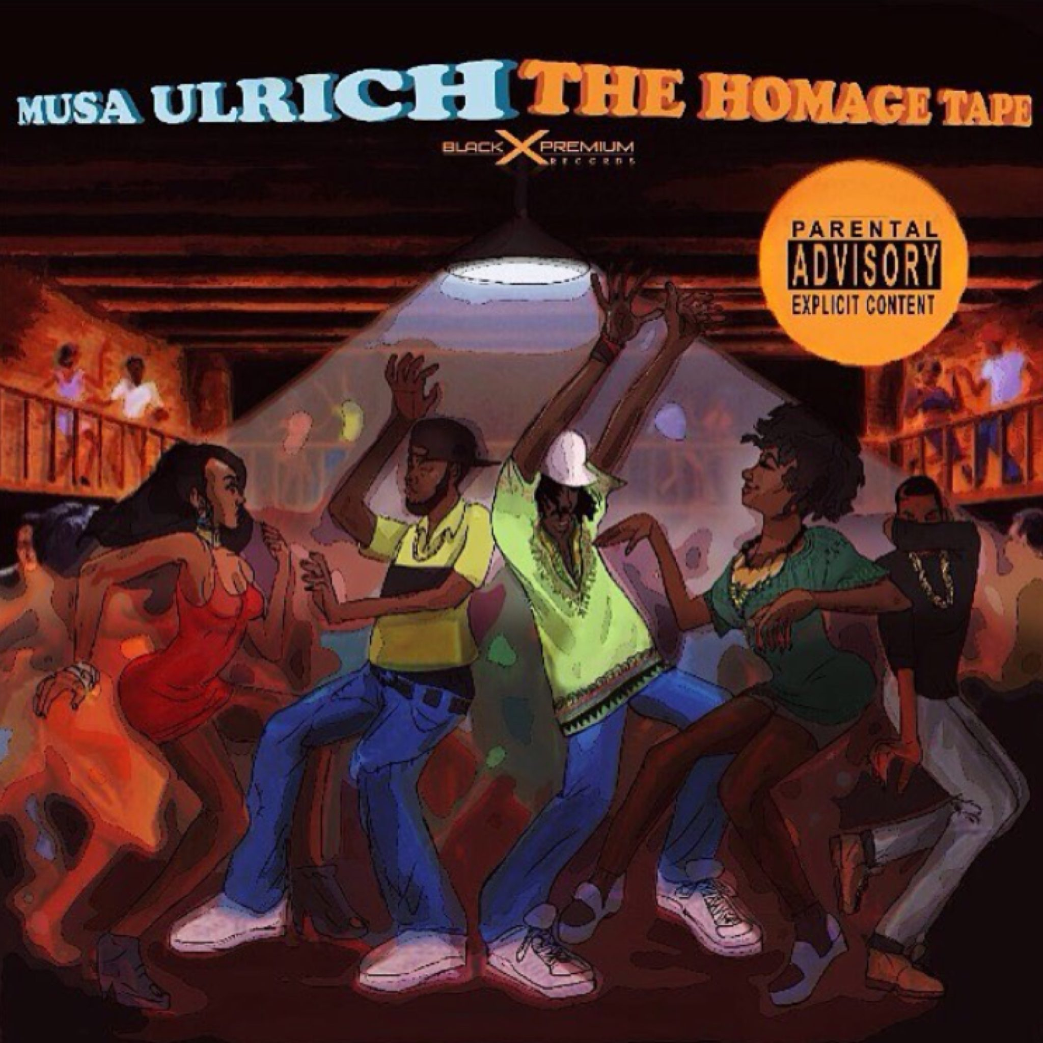 """Musa Ulrich - """"The Homage Tape"""" (Mixtape)"""