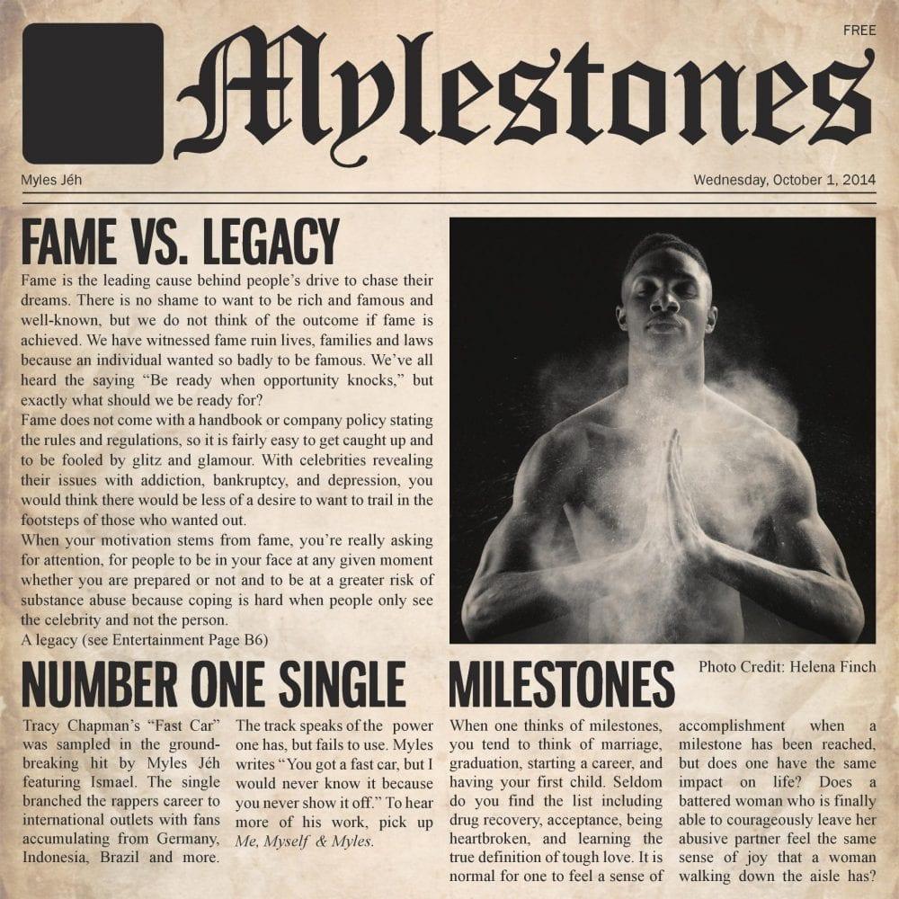 Myles Jéh - Mylestones (Album)